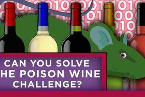 Câu đố tìm thùng rượu độc