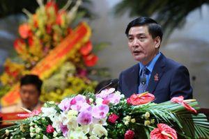 Đồng chí Bùi Văn Cường tái đắc cử Chủ tịch Tổng LĐLĐ Việt Nam khóa XII