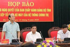Điểm sáng Hà Giang, Lào Cai, tiên phong sáp nhập!
