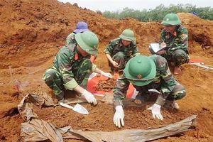 Đã xác định được tên tuổi, quê quán 25 liệt sĩ mới quy tập ở Quảng Trị