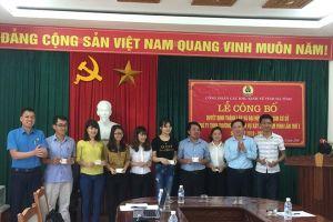 Hà Tĩnh: Thành lập mới 30 công đoàn cơ sở, kết nạp 2.051 đoàn viên