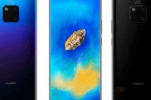 Huawei Mate 20 Pro đã hiện hình với thiết kế 'độc'