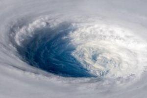 Hình ảnh siêu bão Trami nhìn từ trạm vũ trụ ISS