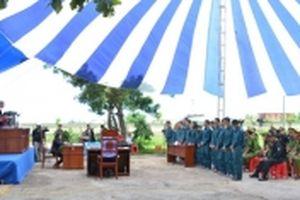 Xét xử 15 đối tượng gây rối trật tự tại Bình Thuận