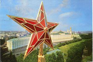 Giải mã bí mật 5 ngôi sao trên điện Kremlin