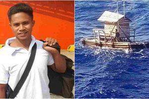Hành trình kỳ diệu của chàng thanh niên Indonesia lênh đênh 49 ngày trên biển