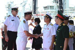 Tàu Hải quân Hoàng gia Canada thăm thành phố Đà Nẵng