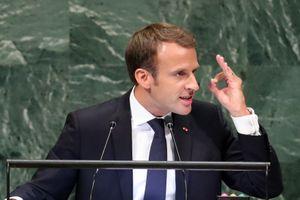 Tổng thống Pháp đá xéo quan niệm 'luật thuộc về kẻ mạnh nhất' của Tổng thống Trump
