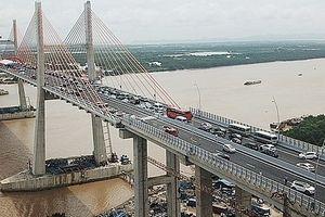 Dự kiến thu phí Cầu Bạch Đằng thuộc cao tốc Hạ Long - Hải Phòng từ đầu tháng 10-2018