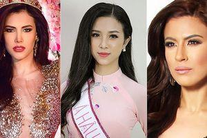 Lộ diện những đối thủ của Á hậu Thúy An tại Miss International 2018