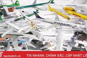 Choáng ngợp bộ sưu tập máy bay mô hình lớn nhất thế giới