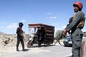 Nhiều cảnh sát Afghanistan thiệt mạng vì Taliban