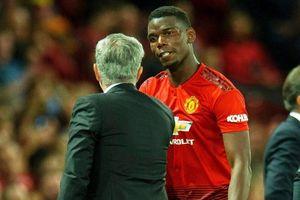 Mourinho hạ bệ Pogba ngay trước thất bại tại Cúp Liên đoàn