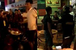 Bị đuổi đánh vì chạy xe kẹp 3, xưng người Hải Phòng, chống đối cảnh sát Kiên Giang