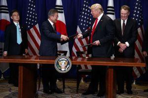 Thỏa thuận thương mại Mỹ - Hàn mới đem lại hy vọng cho nông dân Mỹ