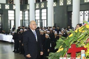 Các đoàn nước ngoài viếng Chủ tịch nước Trần Đại Quang