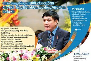 Chân dung Chủ tịch Tổng Liên đoàn Lao động Việt Nam Bùi Văn Cường