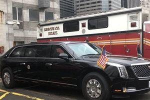 'Pháo đài' Cadillac The Beast cho tổng thống Trump đắt đỏ nhất lịch sử