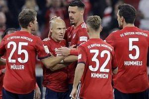 Hàng công kém duyên, Bayern Munich mất điểm trước Augsburg
