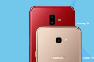 Samsung ra mắt Galaxy J6+ và Galaxy J4+ tại Việt Nam