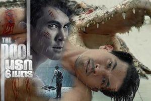 Ken Theeradeth trở lại màn ảnh rộng sau 9 năm, bị 'giam' trong hồ tử thần cùng cá sấu