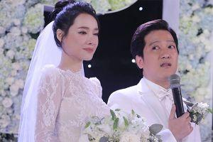 Lời hứa thẫm đẫm nước mắt của Trường Giang với mọi người trong đám cưới