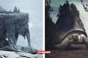 Nghệ sĩ tạo ra phong cảnh siêu thực, cân bằng giữa thiên nhiên và một không gian khác
