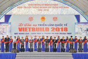 Khai mạc Triển lãm Vietbuild lần 2 tại TP. Hồ Chí Minh