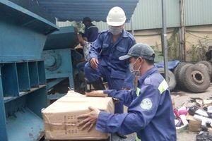 TP. Hồ Chí Minh tiêu hủy nhiều lô hàng nhập lậu, hàng giả
