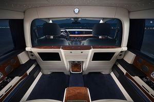 Phiên bản Phantom cải tiến của Rolls-Royce thêm vách ngăn riêng tư