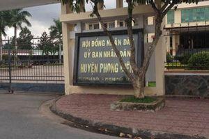 Nhiều cán bộ huyện Phong Điền được bổ nhiệm chưa đúng quy định
