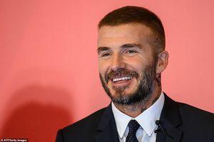 David Beckham khiến fan không thể rời mắt bởi vẻ đẹp trai lịch thiệp