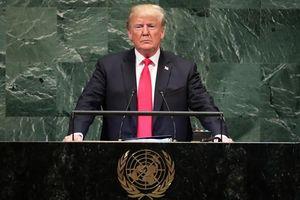 5 điểm nhấn trong phát biểu của ông Trump tại Đại hội đồng Liên Hợp Quốc
