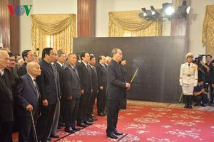 Lễ viếng Chủ tịch nước Trần Đại Quang tại thành phố Hồ Chí Minh