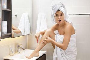 13 sai lầm nghiêm trọng khi cạo lông chân