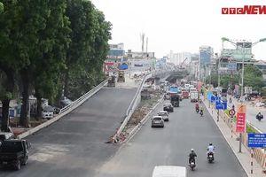 Cận cảnh dự án cầu vượt An Dương - Thanh Niên hơn 300 tỷ đồng ở Hà Nội sắp hoàn tất
