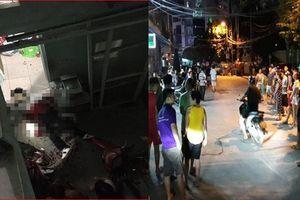 Nam thanh niên bị kẻ bịt mặt truy sát đến cùng ở Hà Nội