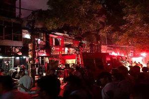 Khởi tố vụ cháy khiến 2 người thiệt mạng gần Bệnh viện Nhi