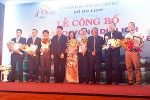 12 doanh nghiệp được trao giải thưởng Du lịch Thừa Thiên - Huế năm 2018