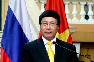 Phó thủ tướng Phạm Bình Minh gặp song phương bên lề cuộc họp LHQ