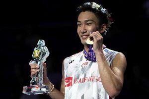 Momota lên số 1 thế giới, đôi Việt Nam nhảy vọt trên bảng xếp hạng