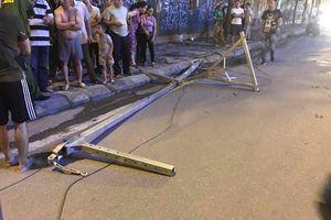 Một cô gái tử vong do thanh sắt rơi từ công trình đang thi công