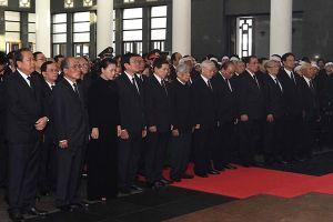 Quốc tang Chủ tịch Nước Trần Đại Quang: Chủ tịch Nước mất đi là tổn thất lớn đối với Đảng, Nhà nước và nhân dân ta