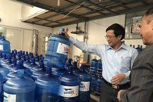 Hà Nội 'nhức nhối' quản lý nước đóng bình: Gần 100 trên 416 cơ sở sản xuất vi phạm