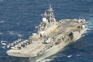 Trung Quốc từ chối tàu chiến Mỹ cập cảng Hong Kong