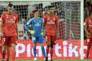 Thi đấu bạc nhược, Real thua sấp mặt trước Sevilla