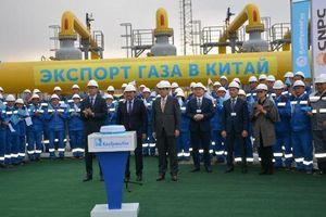 Kazakhstan tăng gấp đôi xuất khẩu khí đốt sang Trung Quốc