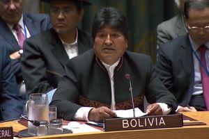 Tổng thống Bolivia tố Mỹ 'hỗ trợ đảo chính' để chiếm hữu tài nguyên thiên nhiên