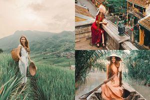 Thêm yêu Việt Nam qua những bức ảnh 'chất nghệ' của 'công chúa tóc mây' Sarah Trần