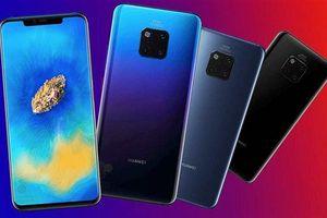 Huawei Mate 20 và Mate 20 Pro 'lộ tất tần tật' thiết kế, tính năng và giá bán